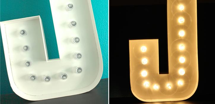 homepage lettere lampada